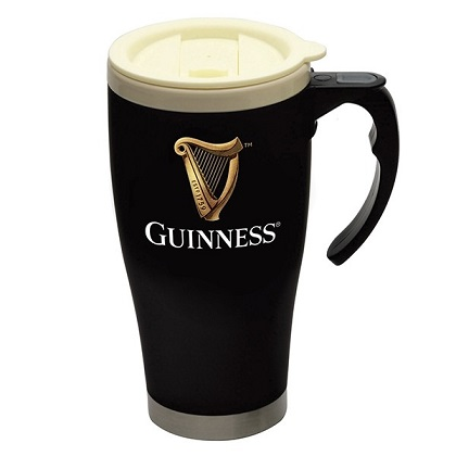 Guinness Large Cream Cap Travel Mug