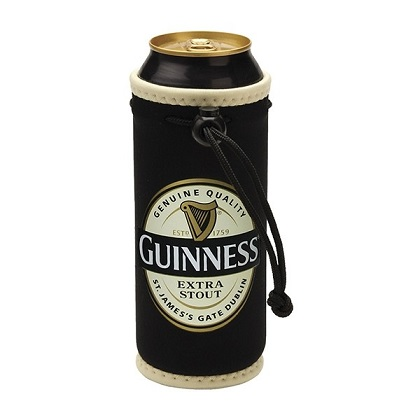 Guinness Label Can Cooler