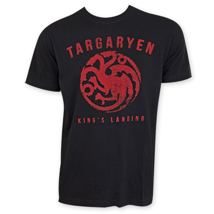 Game Of Thrones Targaryen Logo Tee Shirt