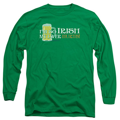 St. Patrick's Day So Irish Green Long Sleeve T-Shirt