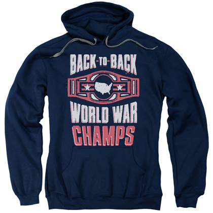Patriotic Back To Back World War Champs Hoodie