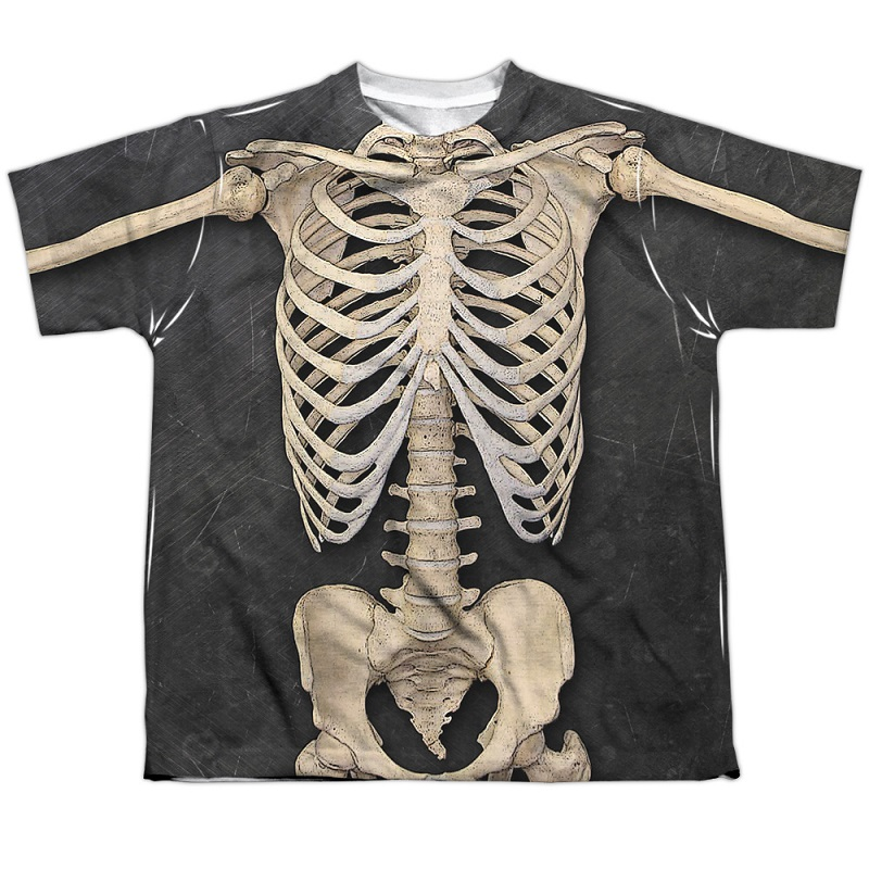 Skeleton Youth Costume Tee