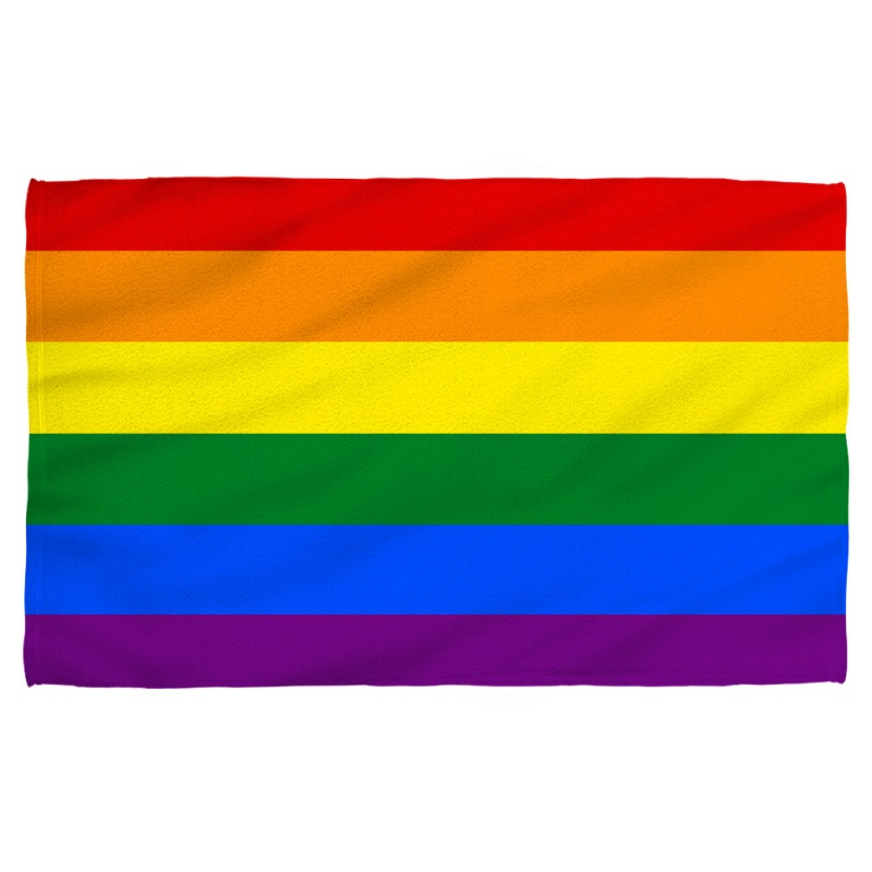 Pride Flag Beach Towel