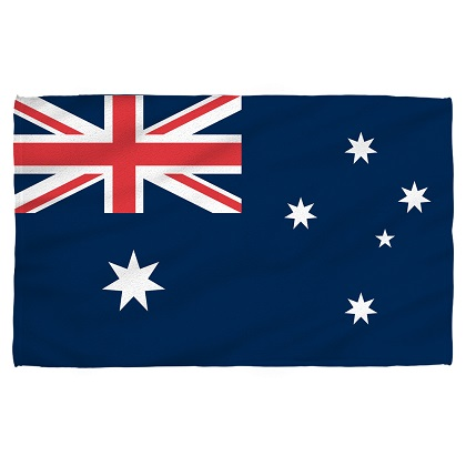 Australia Australian Flag Beach Towel