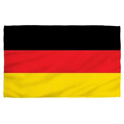 Germany German Flag Beach Towel