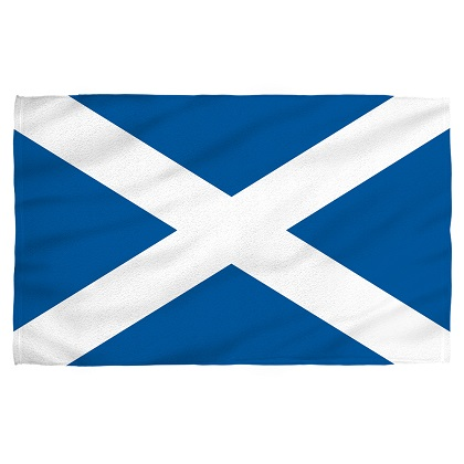 Scotland Scottish Flag Beach Towel
