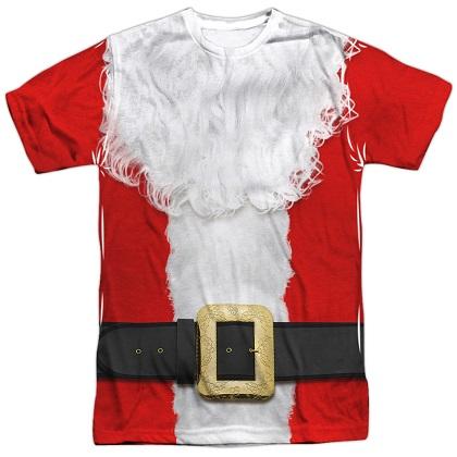 Santa Claus Christmas Costume Tshirt