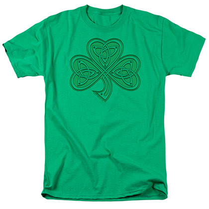 St. Patrick's Day Celtic Shamrock Green T-Shirt