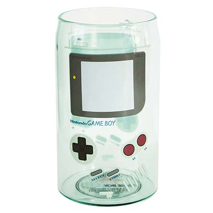 Nintendo Gameboy Drinking Glass