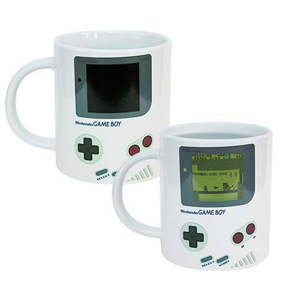 Gameboy Color Changing Heat Reveal Mug