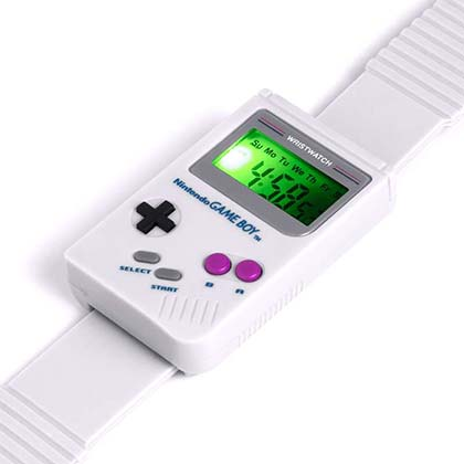 Nintendo Gameboy Replica Digital Watch