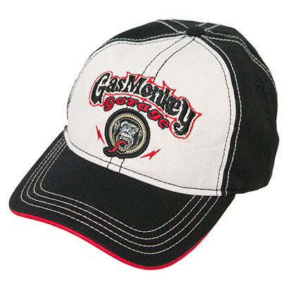 Gas Monkey Garage Black Stitched Hat