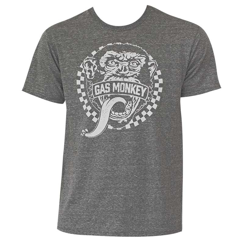 Gas Monkey Heather Grey T-Shirt