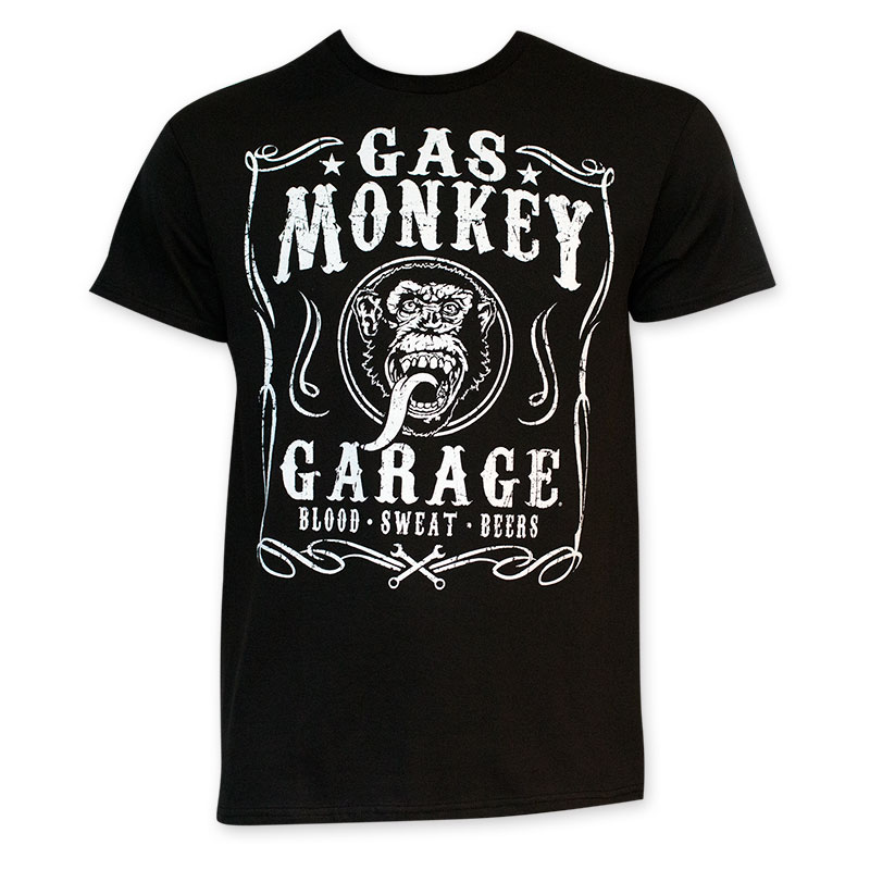Gas Monkey Blood Sweat Beers T-Shirt