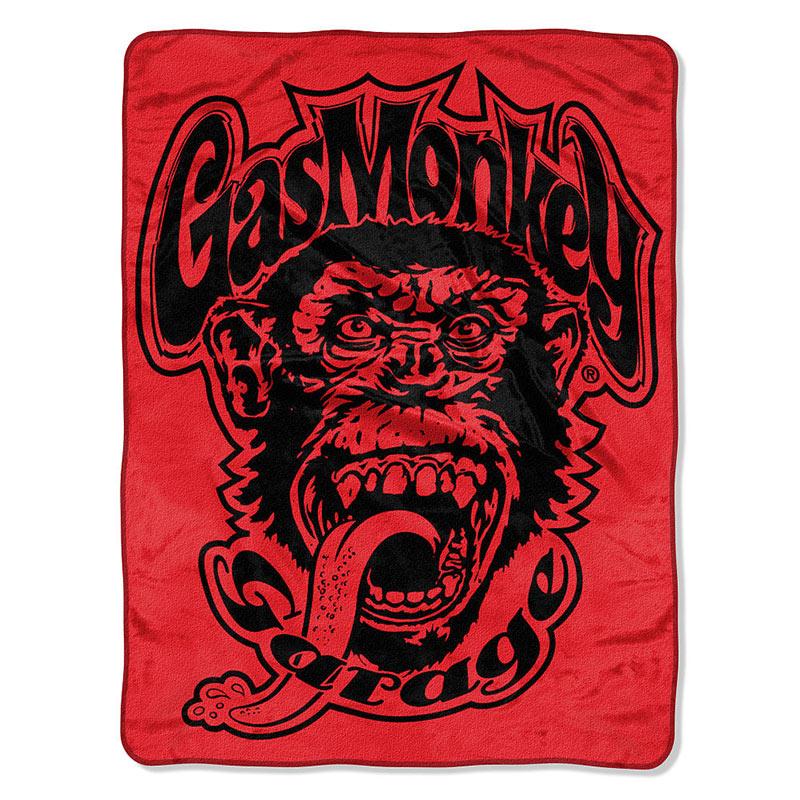 Gas Monkey Garage Super Plush Star Logo Blanket
