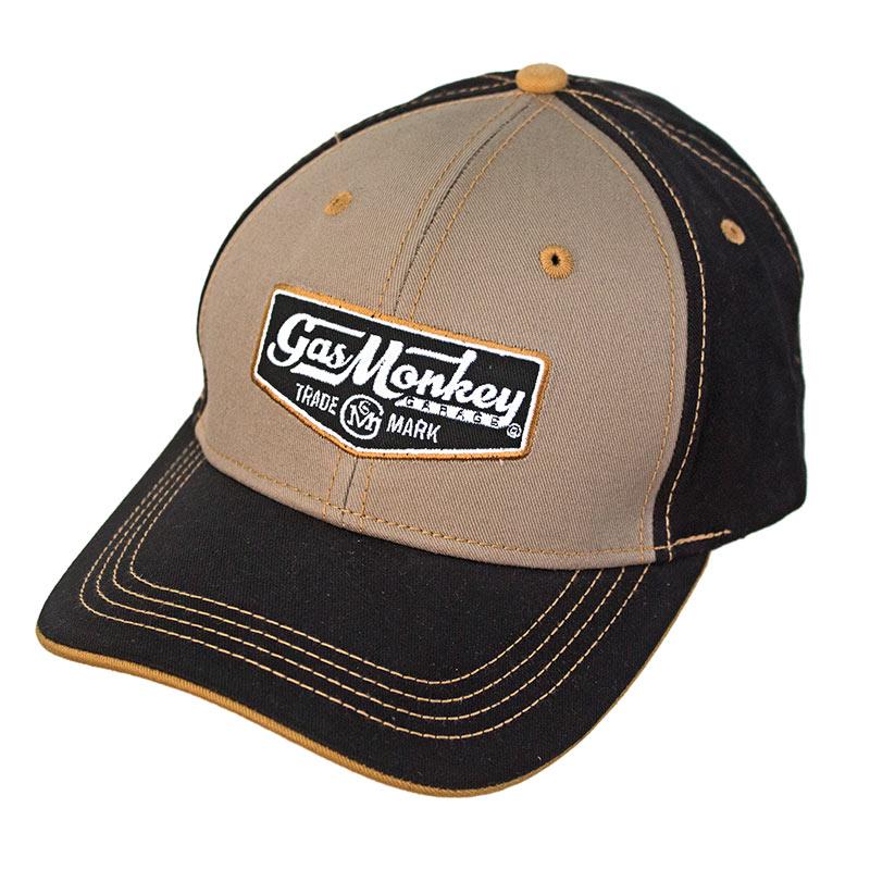 Gas Money Garage Black and Tan Hat