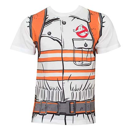 Ghostbusters Men's White Costume T-Shirt