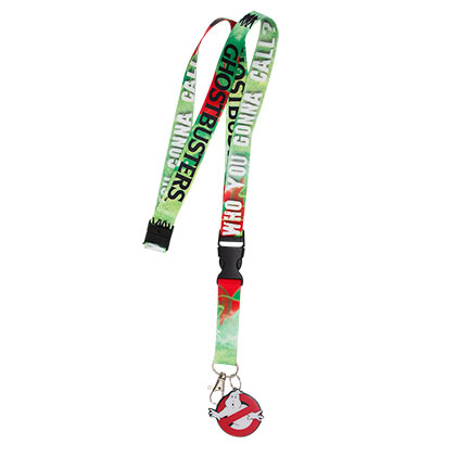 Ghostbusters Movie Logo Lanyard