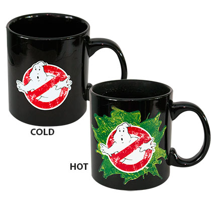 Ghostbusters Black Color Changing Mug