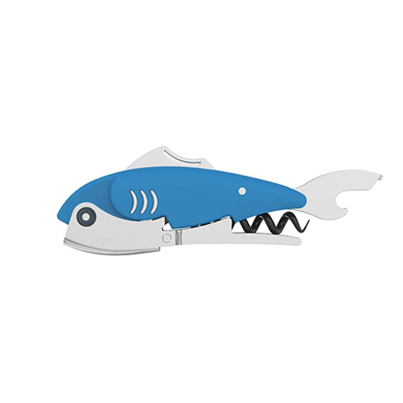 Gillbert Fish Corkscrew Bottle Opener