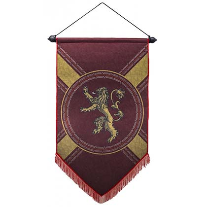 Game of Thrones Lannister Flag