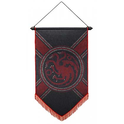 Game of Thrones House of Targaryen Banner