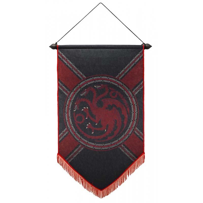 Game of Thrones House of Targaryen Banner