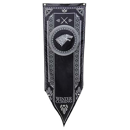 Game of Thrones House of Stark Canvas Winter Is Coming Banner
