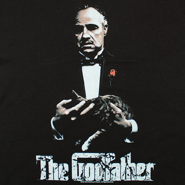 The Godfather New G T Shirt - Black