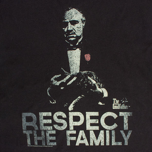 The Godfather Respect The Family T-Shirt