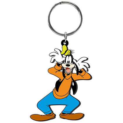 Goofy Soft Touch Keychain
