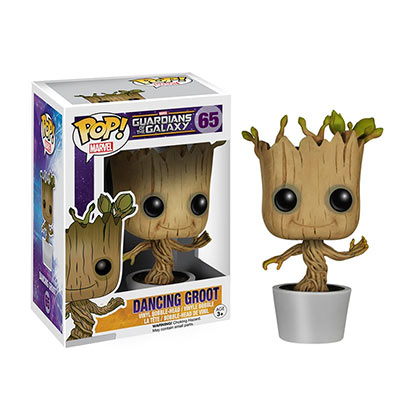 Guardians Of The Galaxy Dancing Groot Superhero Funko Pop Bobble Head