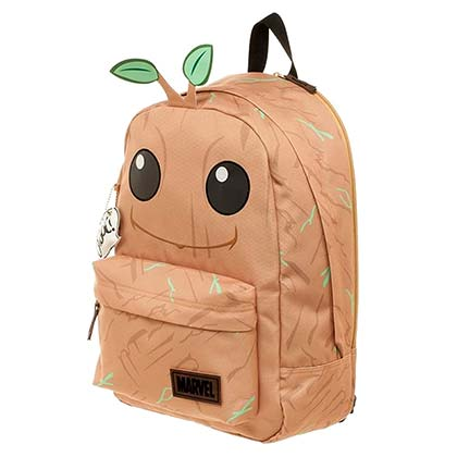 Guardians Of The Galaxy Brown Groot Backpack