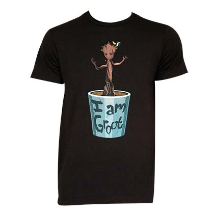 Guardians Of The Galaxy I Am Groot Men's T-Shirt