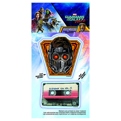 Guardians Of The Galaxy Car Window Star Lord & Mixtape Decal