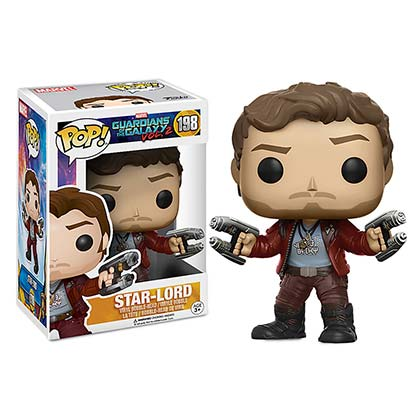 Guardians Of The Galaxy Star Lord Superhero Funko Pop Bobble Head
