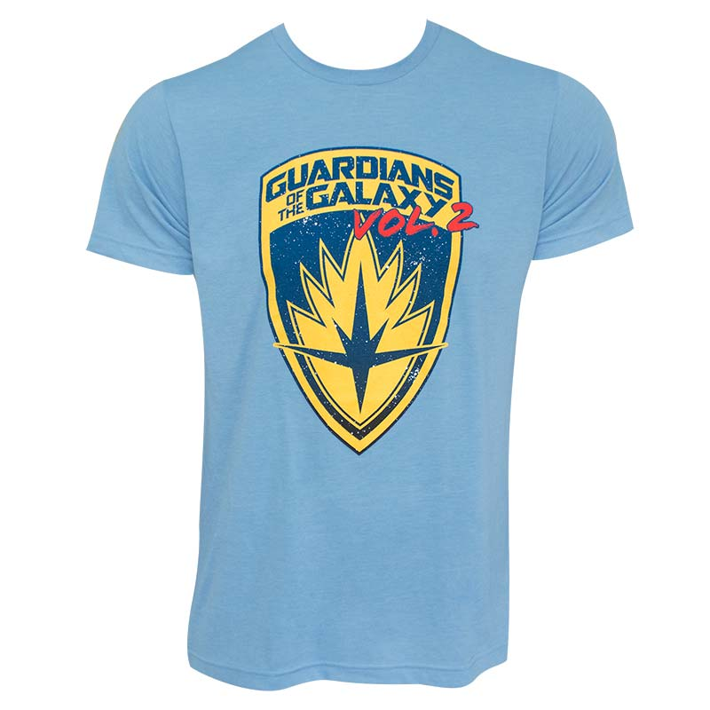 Guardians Of The Galaxy Men's Blue Volume 2 T-Shirt