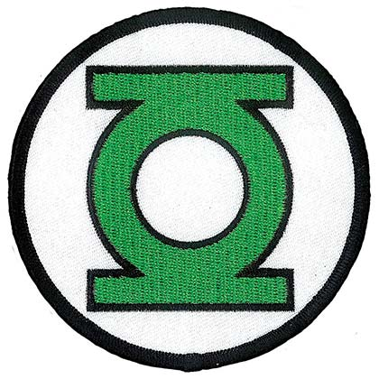 Green Lantern Iron On Patch