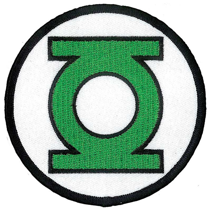 Green Lantern Comic Logo Iron On Patch Superheroden