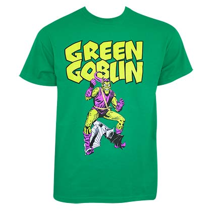 Spiderman Men's Green Goblin T-Shirt