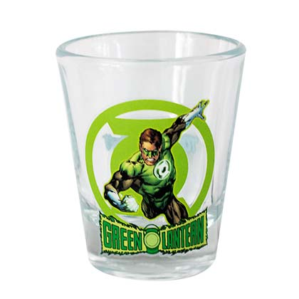 Green Lantern Character Shot Glass
