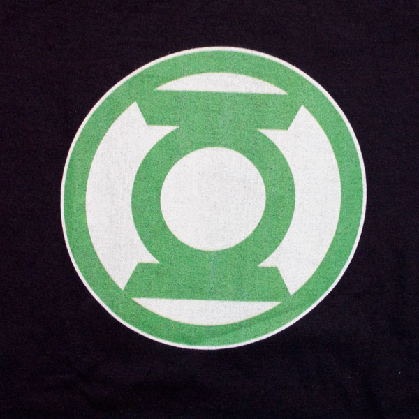 Green Lantern Logo Shirt Black