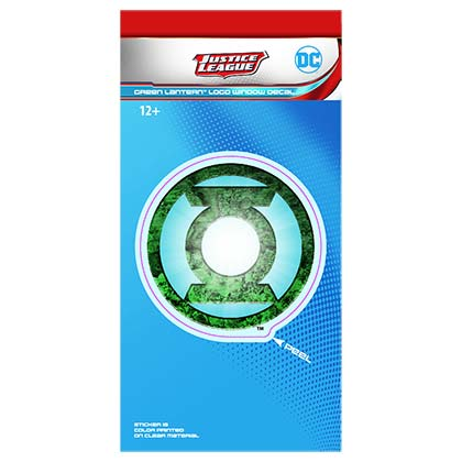 Green Lantern Comic Logo Decal