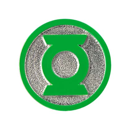 Green Lantern Logo Lapel Pin