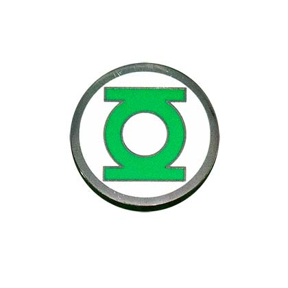 Green Lantern Logo Lapel Pin