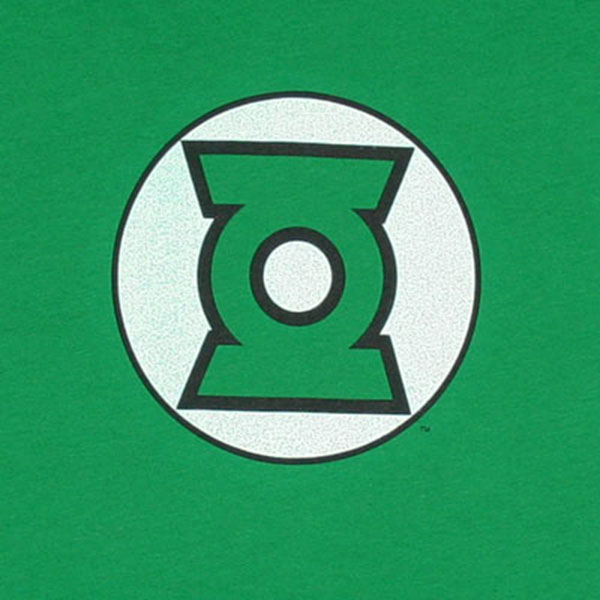 Green Lantern Logo DC Comics Green Juniors Graphic T Shirt ...
