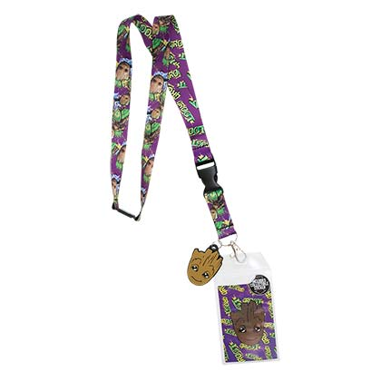Guardians Of The Galaxy Comic Groot Lanyard