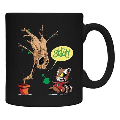 Guardians Of The Galaxy Heat Activated Color Changing Coffee Mug