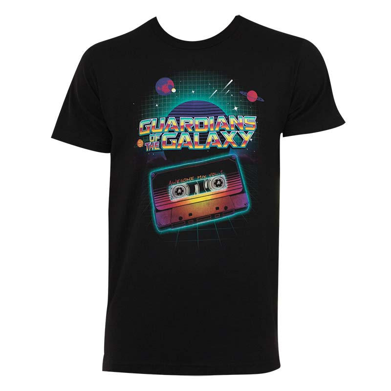 Guardians Of The Galaxy Mixtape Tee Shirt
