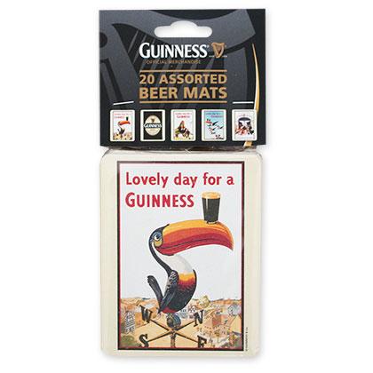 Guinness 20 Pack Beer Coasters